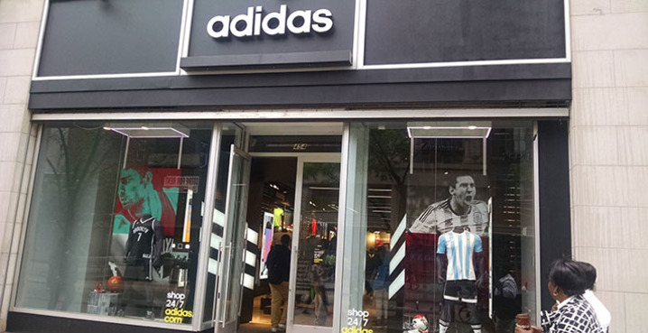 adidas store locations in nyc