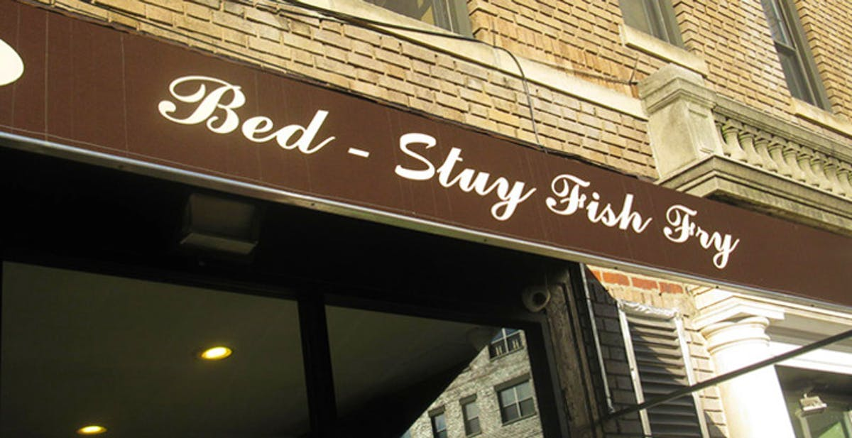 Bed stuy fish fry downtown brooklyn for Bed stuy fish fry menu