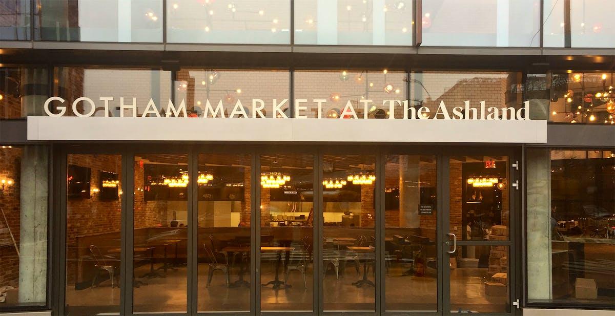 Gotham market at the ashland downtown brooklyn for The ashland brooklyn