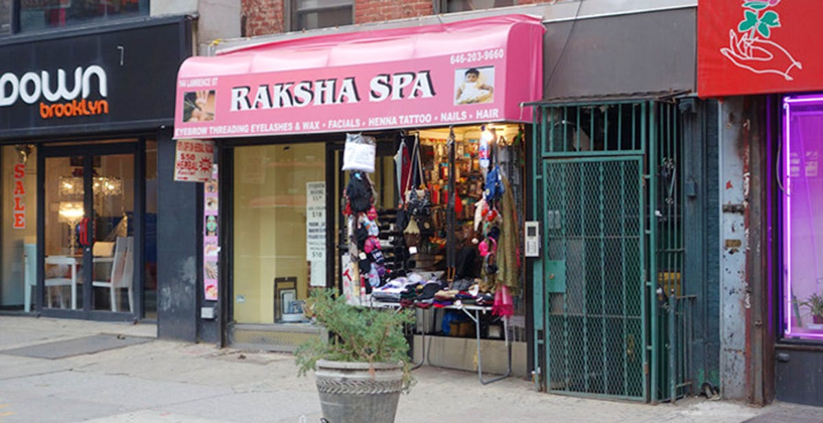 Raksha spa downtown brooklyn for Adams salon brooklyn ny
