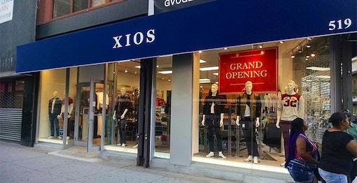 Xios Clothing Store Queens