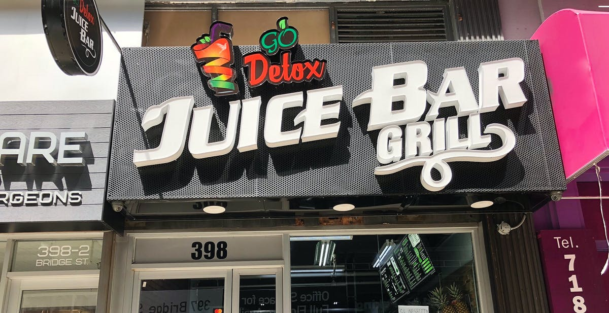 Go Detox Juice Bar Grill - Downtown Brooklyn