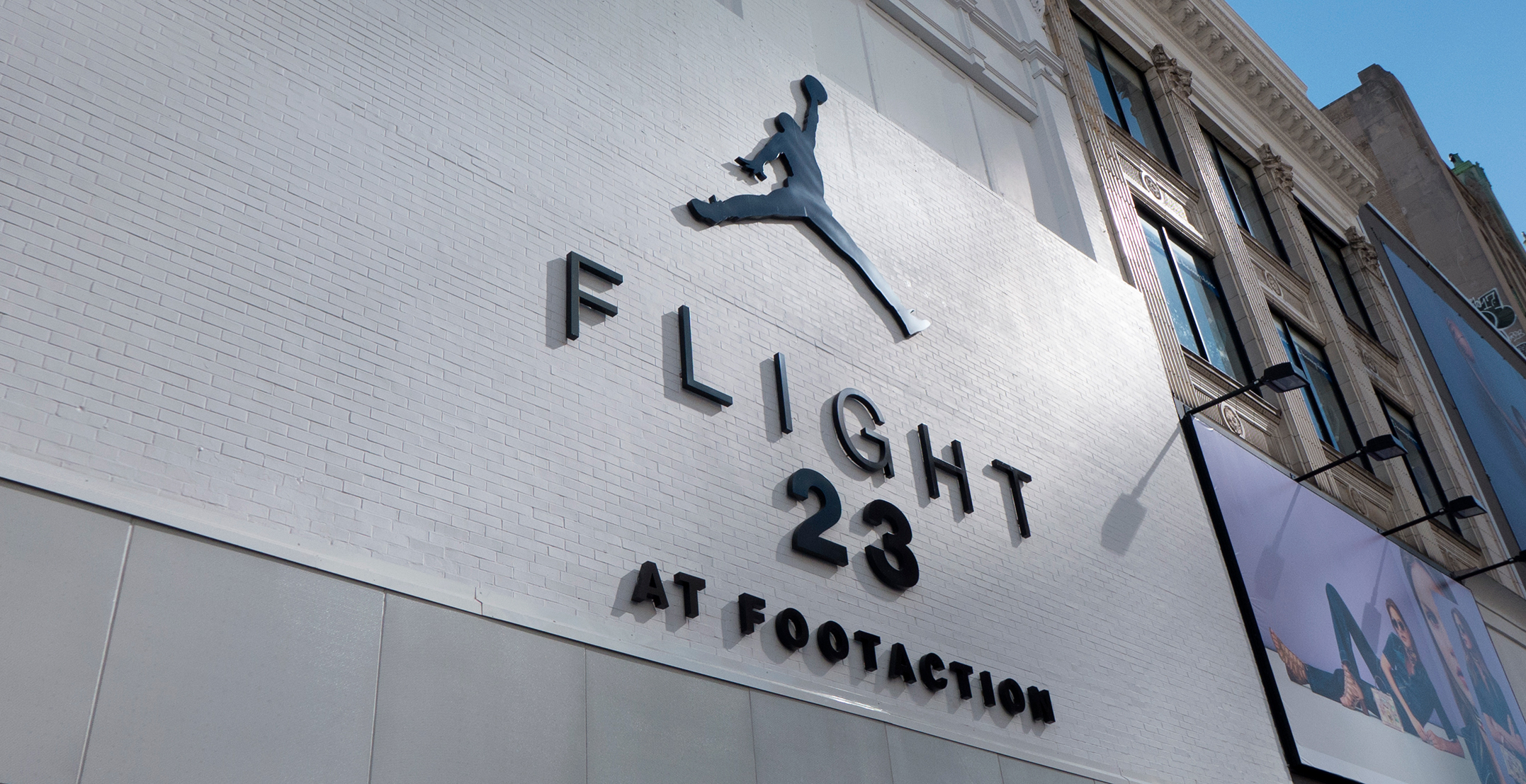 Flight 23 at Footaction - Downtown Brooklyn