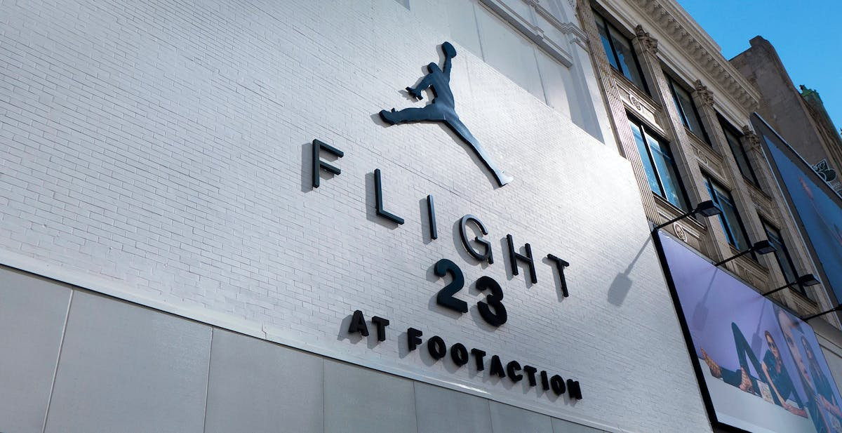 2031814c3f6 Flight 23 At Footaction - Downtown Brooklyn