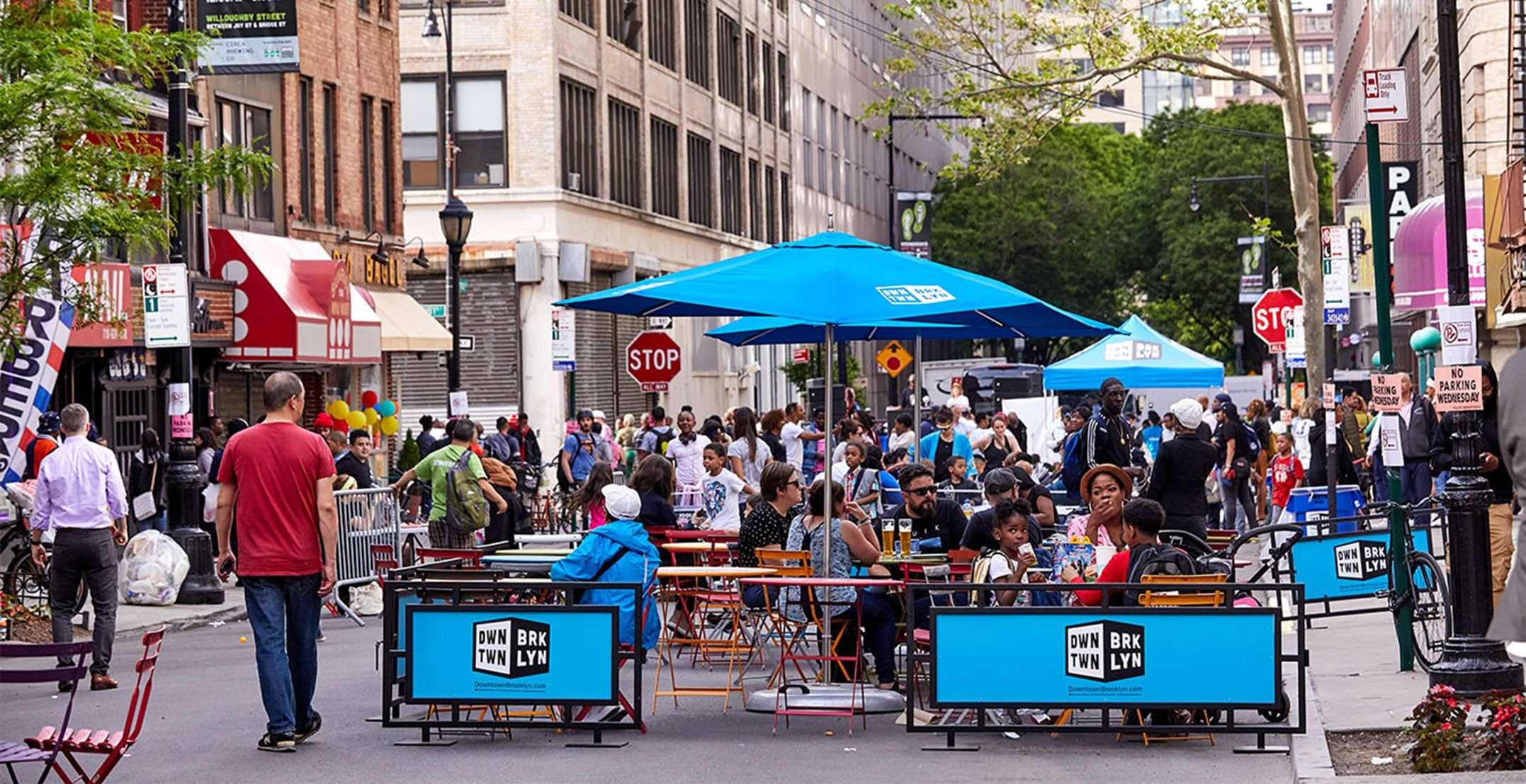 Open Restaurants Mayor De Blasio Announces Plan To Expand Restaurant Outdoor Seating Once City Enters Phase 2 Downtown Brooklyn