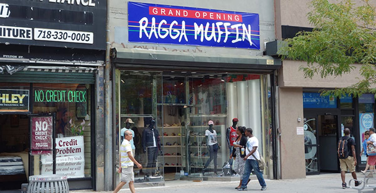 info for ccbef 80504 Ragga Muffin - Downtown Brooklyn